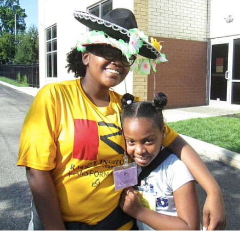Summer Camp Teen Leader In the News!